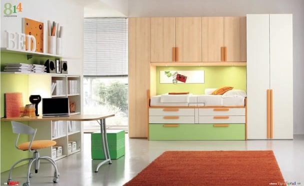 work space in kids room