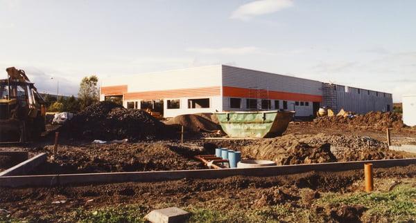 DM Factory being built