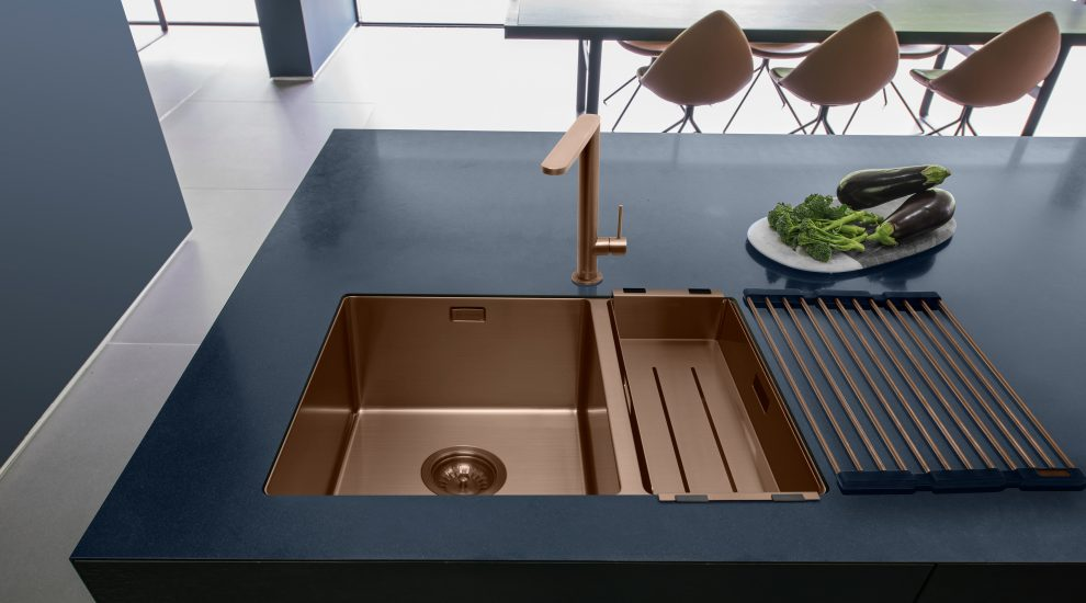 Caple copper kitchen sink