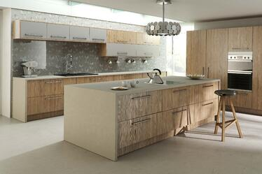 montana larch kitchen