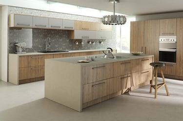 montana larch kitchen