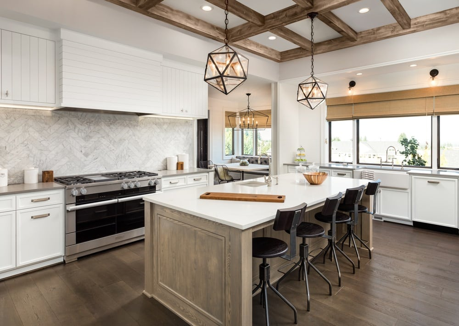 mixed surfaces kitchen